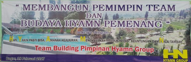 team building pimpinan hyamn group